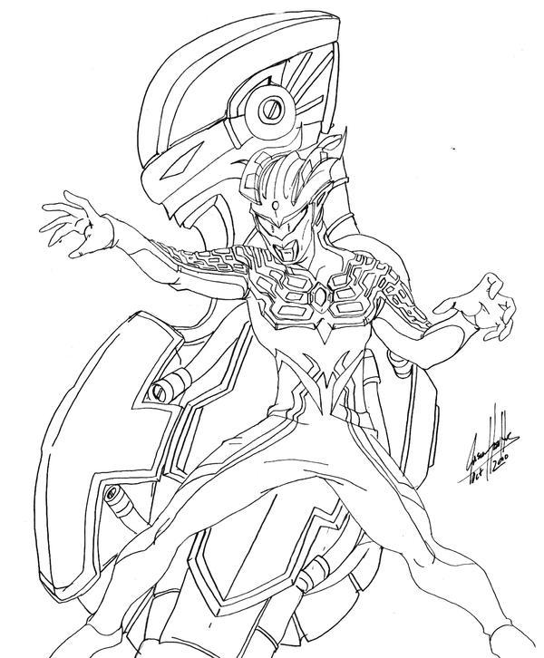 Darclops Zero Lineart by Onore-Otaku