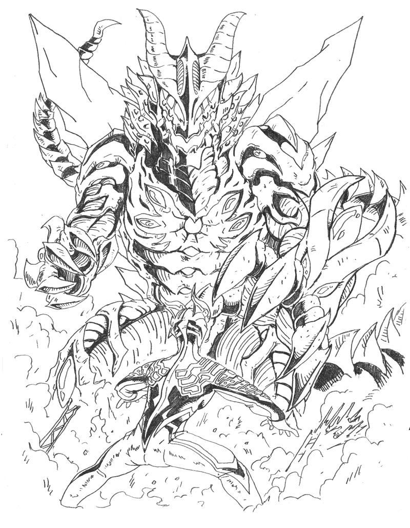 How To Draw Ultraman Saga
