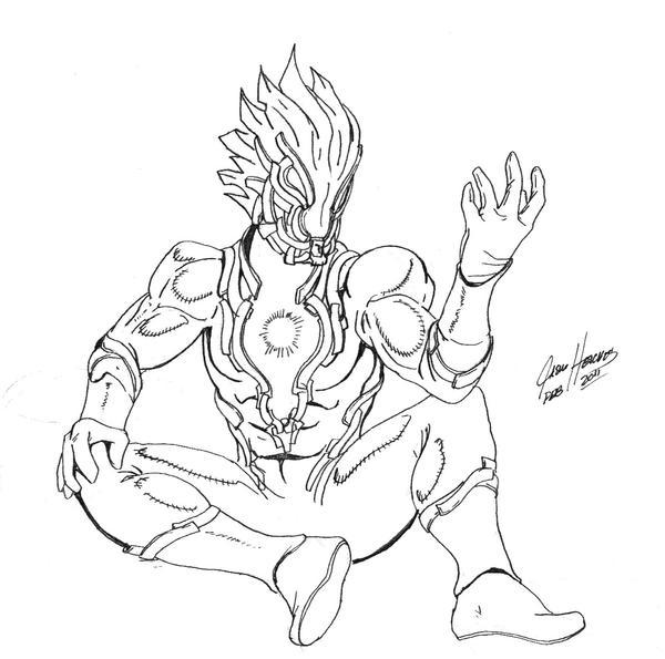 Ultraman Mebius Drawing What is Ultraman Zero vs