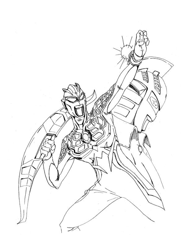 ultraman zero coloring pages now sketch coloring page