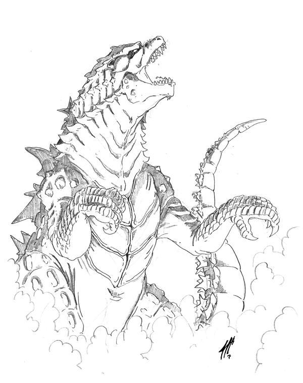 Godzilla 2K14 by Onore-Otaku