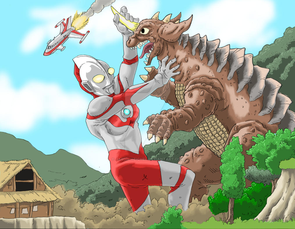 Games coloring ultraman - Resized Image