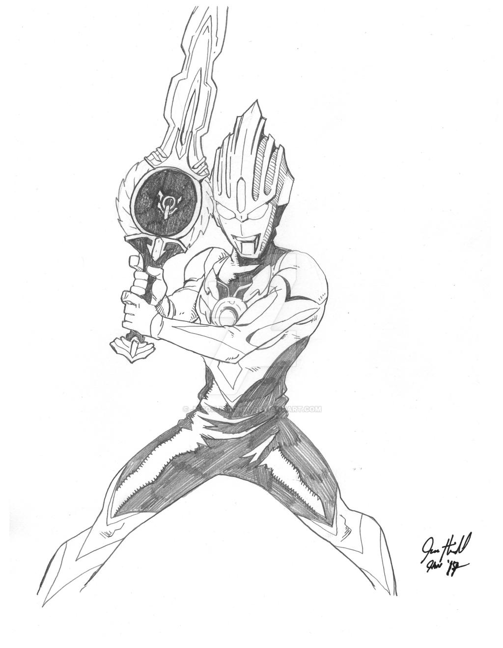 Coloring Ultraman Geed