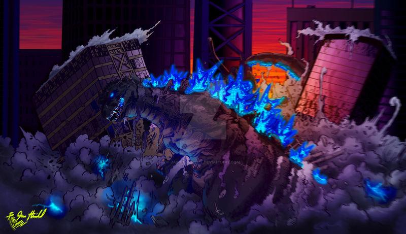 Godzilla (Colors by Jasmo)
