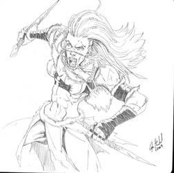 Savage Warrior by Jason-Heichel