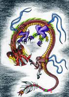 Weird Dragon Contest Entry 1 by DragonHeartLuver