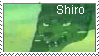 Shiro fan Stamp by DragonHeartLuver