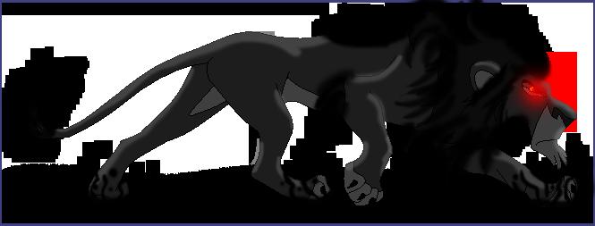 The Black Lion by DragonHeartLuver