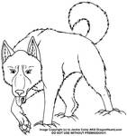 New Canine LineArt 22