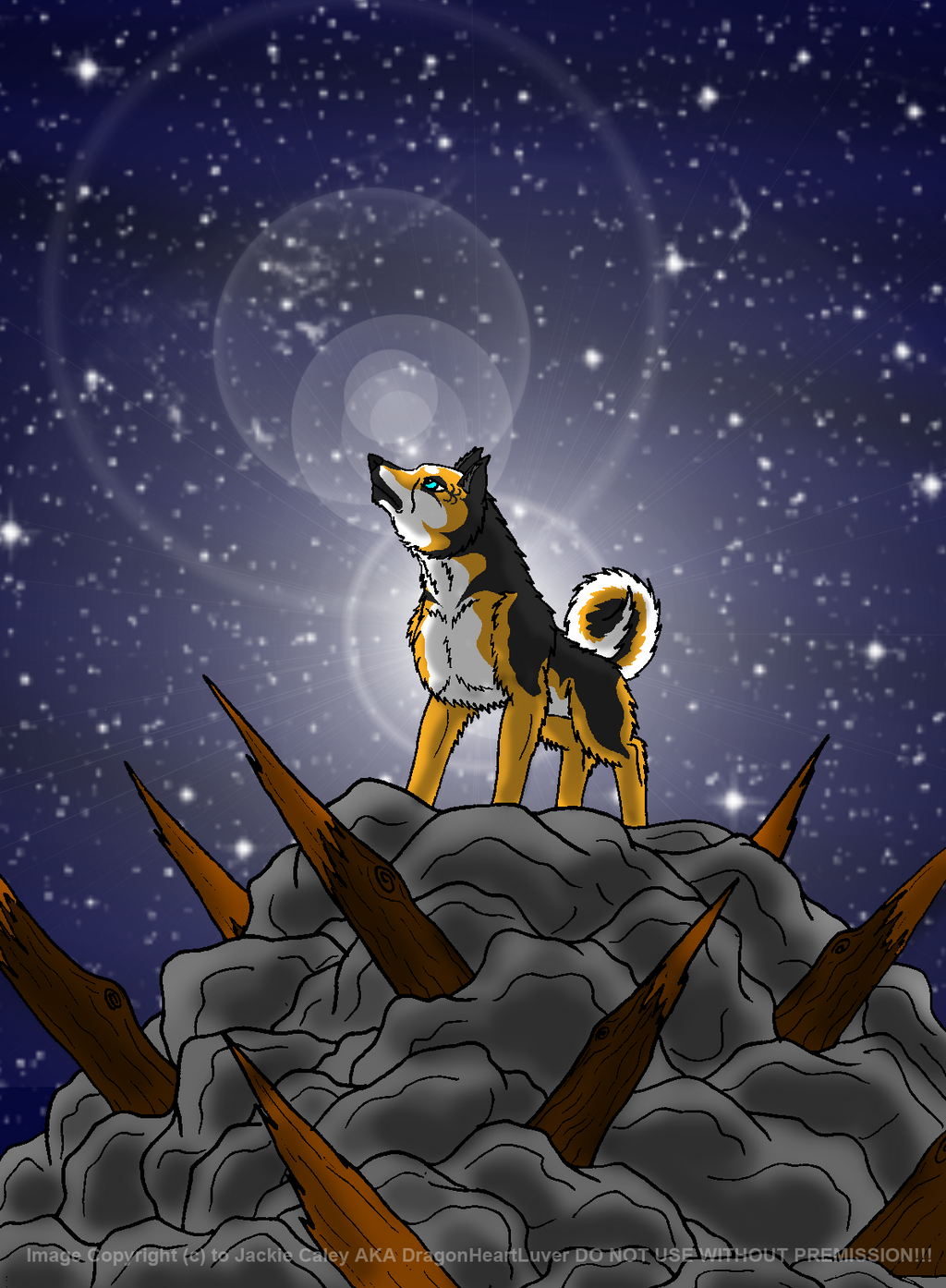 CE- Dog Design 5 by DragonHeartLuver