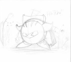 Meta Knight sketch by psyXstar