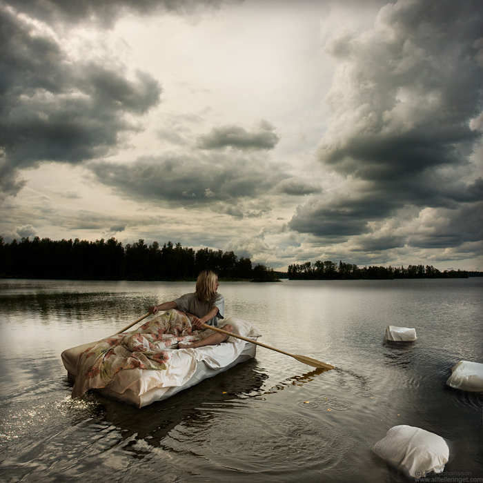 Wet dreams on open waters