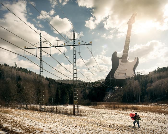 Electric Guitar by alltelleringet