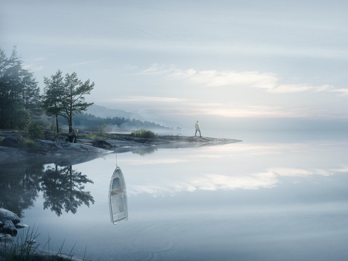 Endless reflections by alltelleringet
