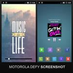 Motorola Defy-February Shot !