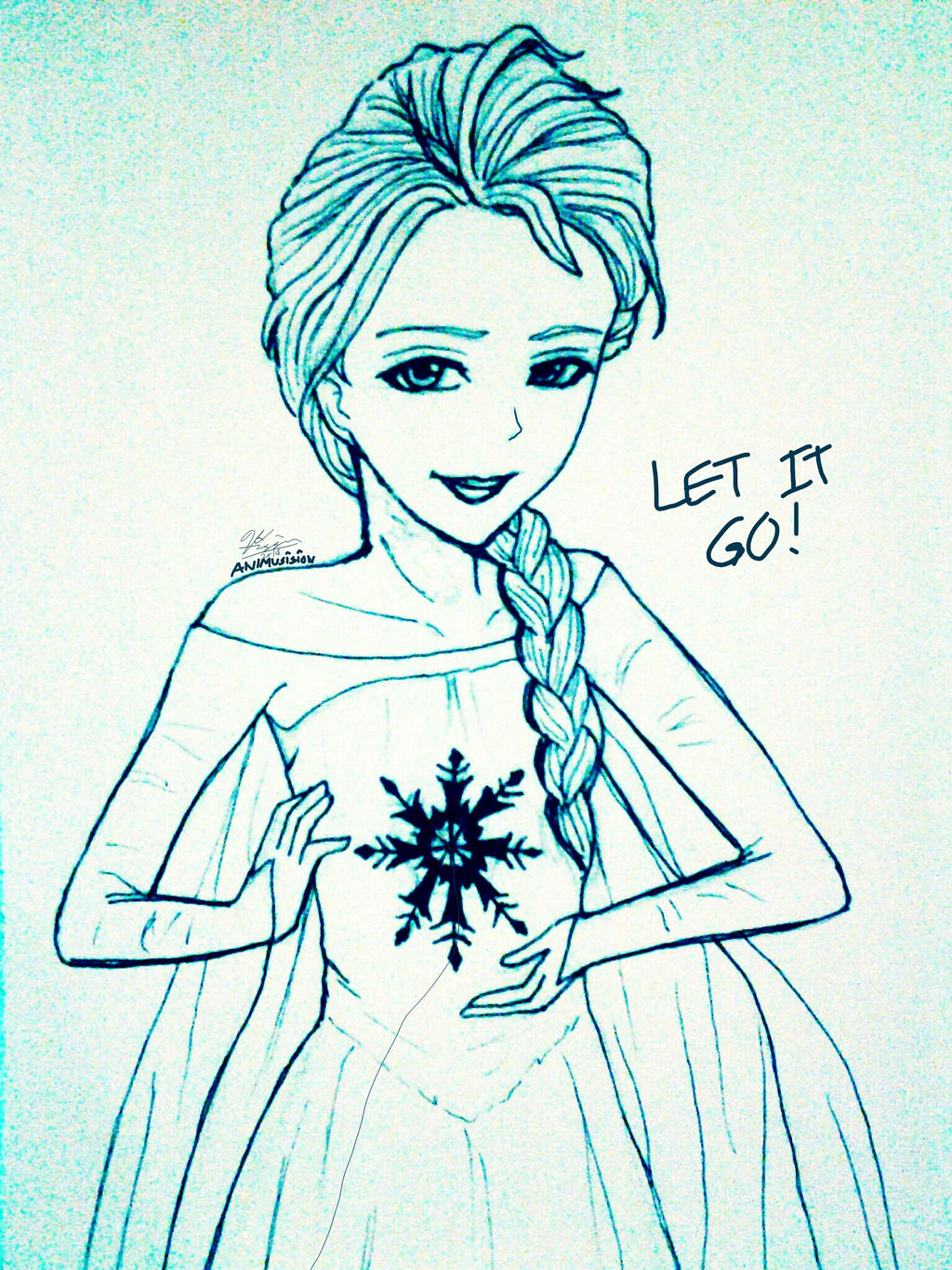 *Let It Go! Elsa(Frozen)* by AniMusision