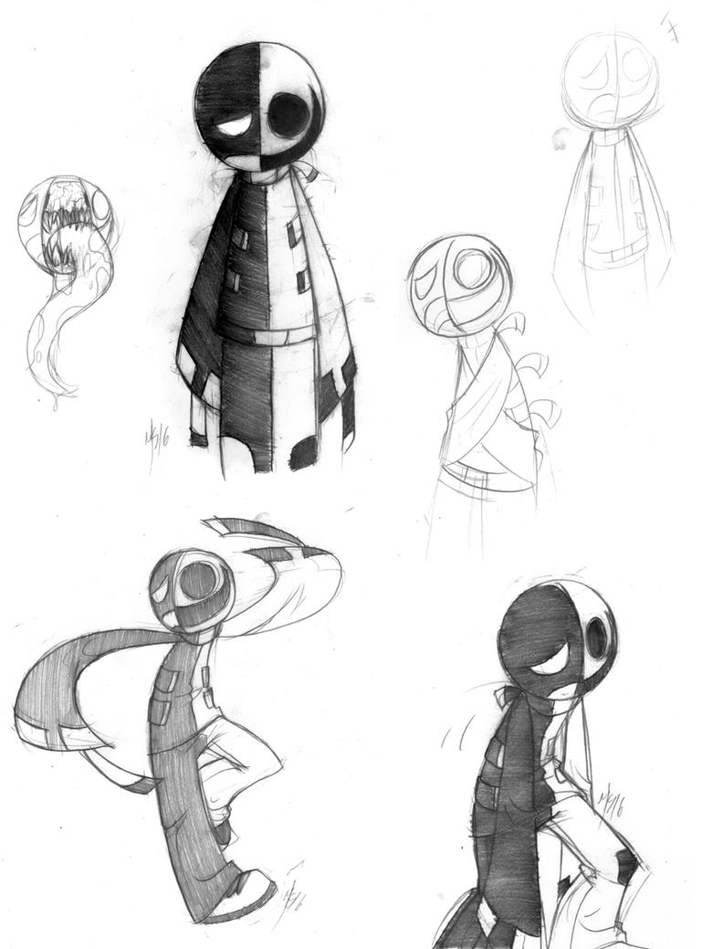 More INC Doodles by Inverted-Mind-Inc