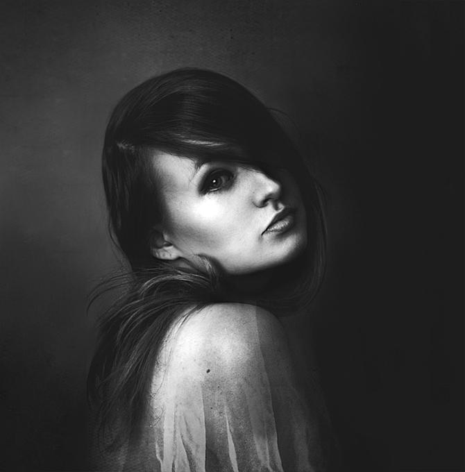 Self-portrait by domalowana