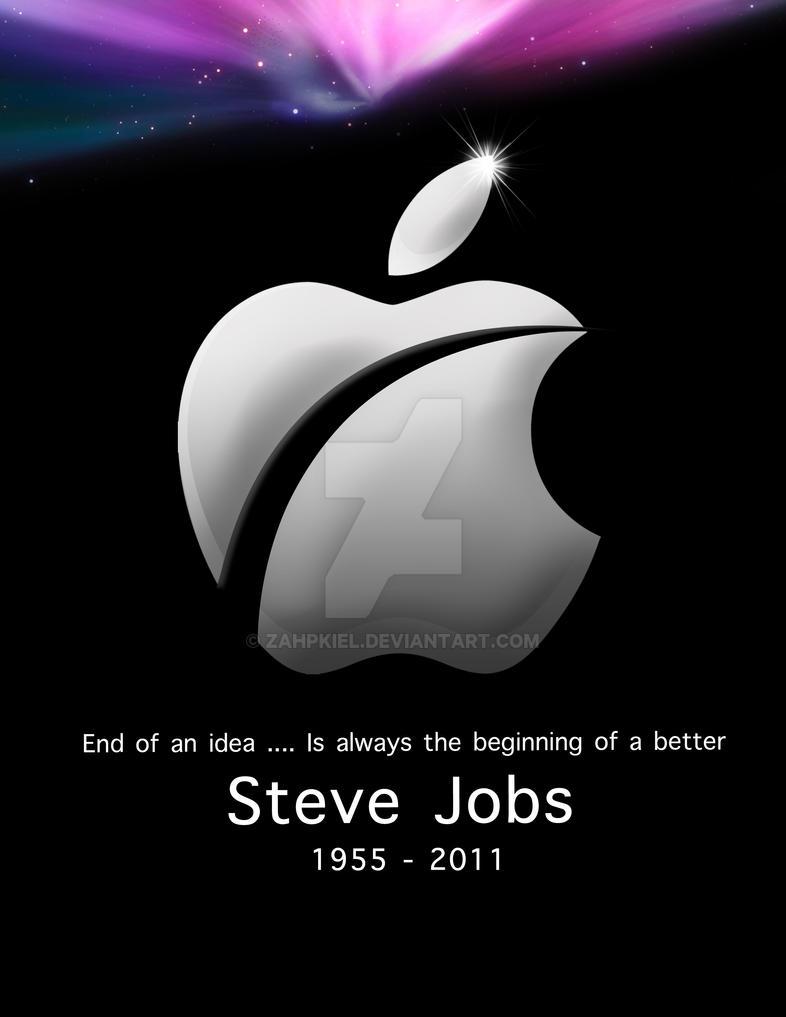 Tribute for Steve Jobs by zahpkiel