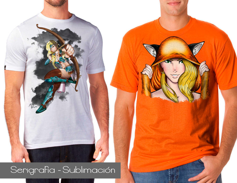 T-shirt  Eruwin look by zahpkiel