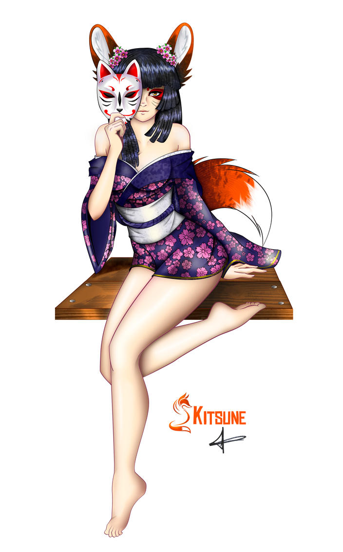 kitsune completed by zahpkiel