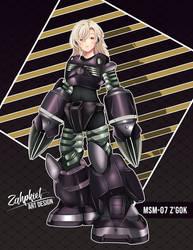 MSM-07 ZGok  - exdeathyourjudge