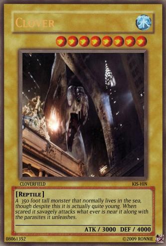 Clover Yu-Gi-Oh Card by Ronnie-R15