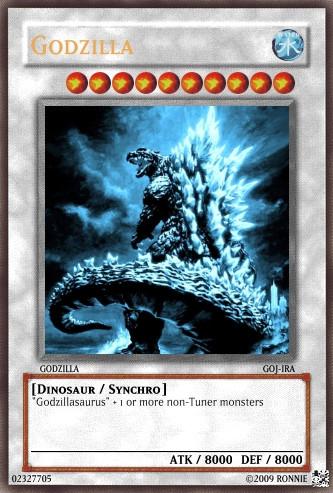 Godzilla Yu-Gi-Oh Card by Ronnie-R15 on DeviantArt