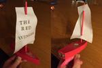 The Red Avenger Raingutter Racer by Ronnie-R15