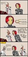 Mass Effect 2: Choosing Paragon by bookwormcat