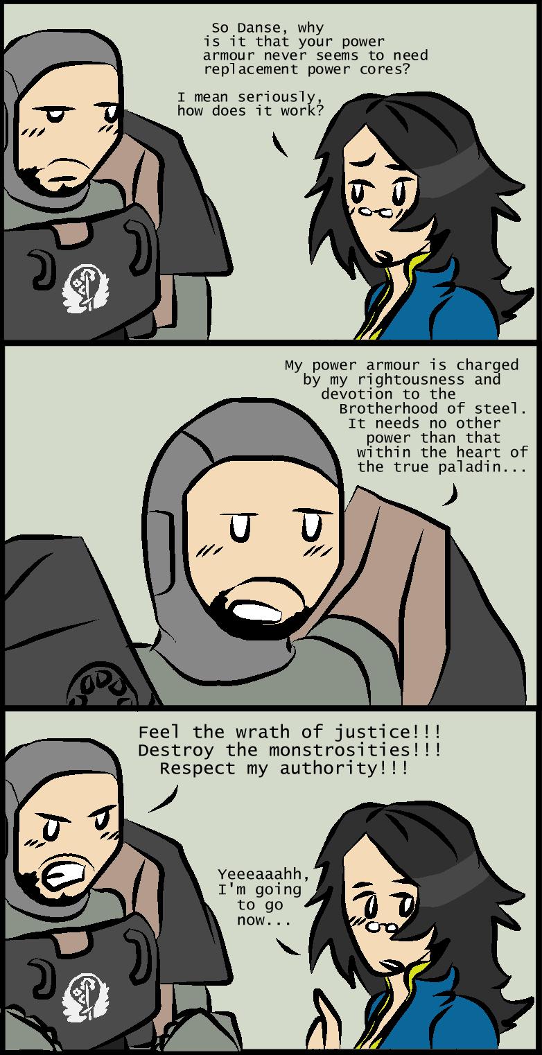 Fallout 4 Danses Power Armour By Bookwormcat On DeviantArt