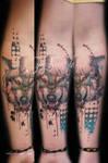 Wolf tattoo - Jay Freestyle