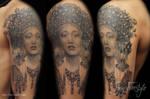 Geisha tattoo - Jay Freestyle