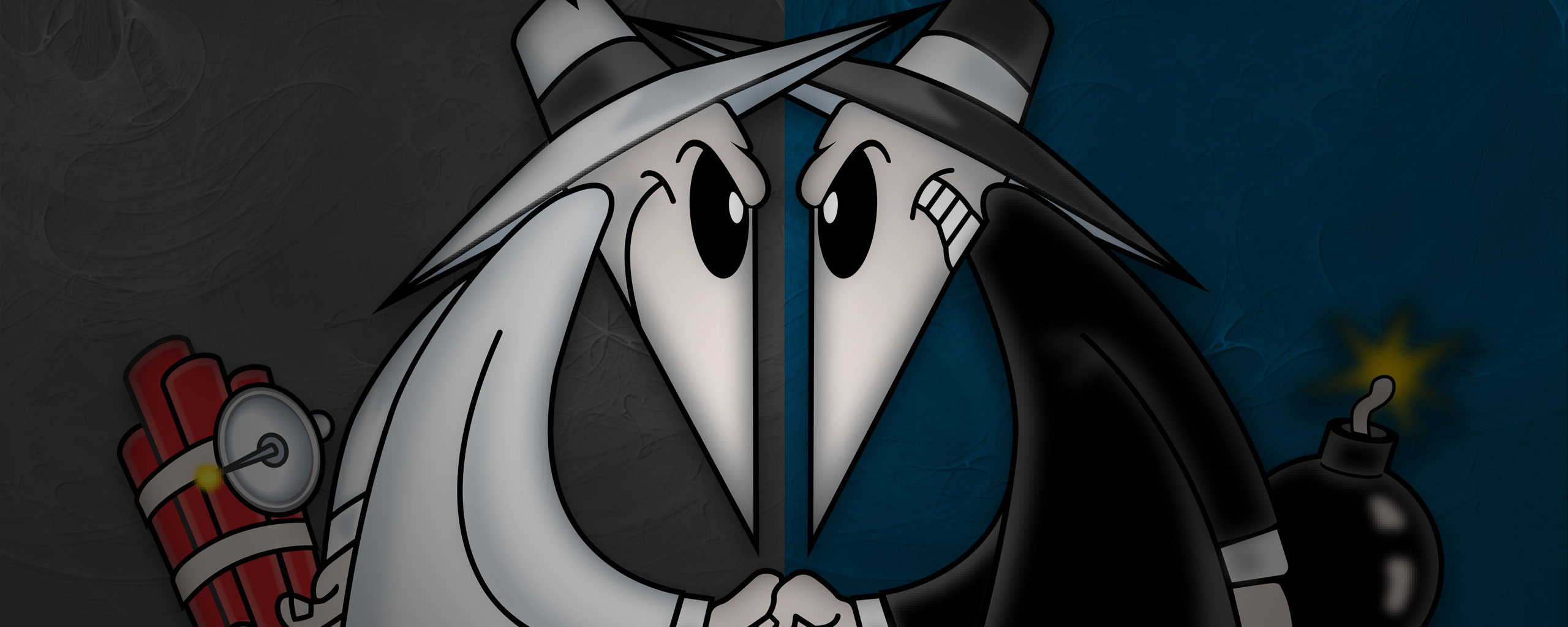 Spy vs Spy - By Mario Bordieri by bordieri