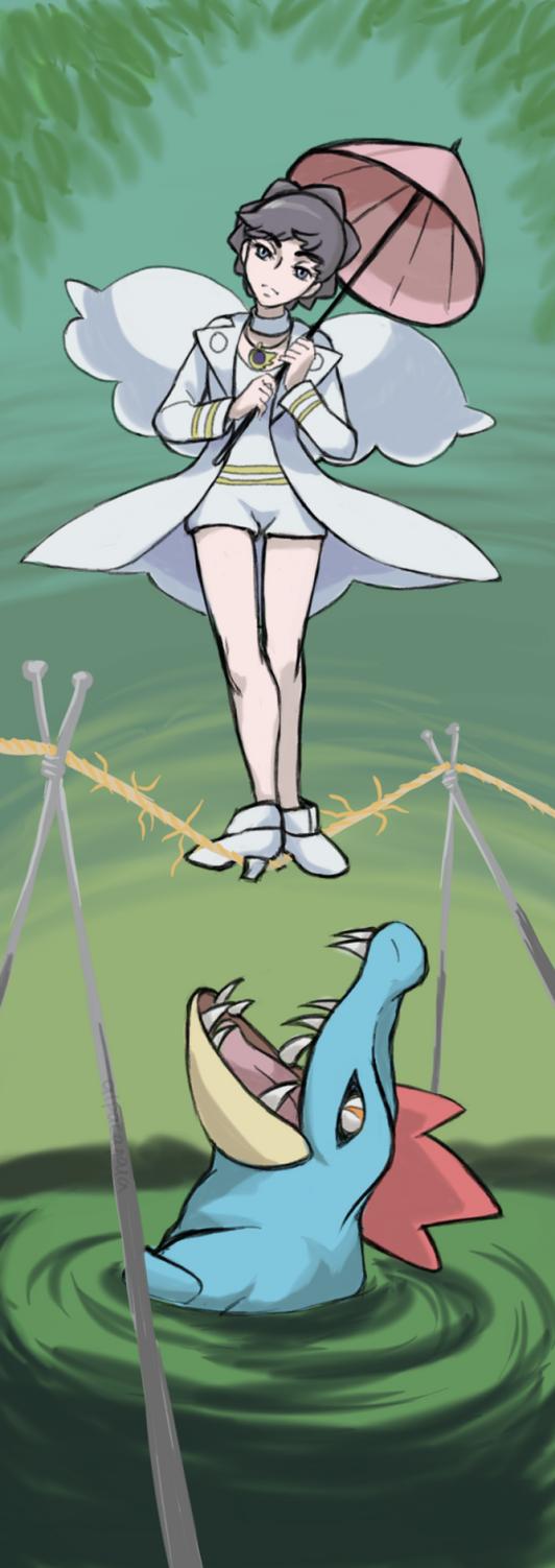 Diantha tho (Pokemon opening Mega Volt pic) by