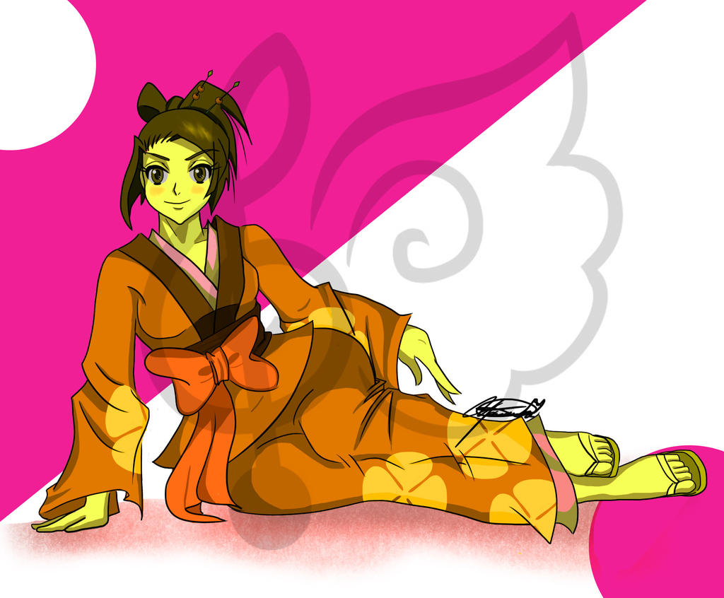 Multicolored Fuu by MissJuxtaposition
