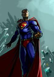 Superman classic by FrancescoIaquinta