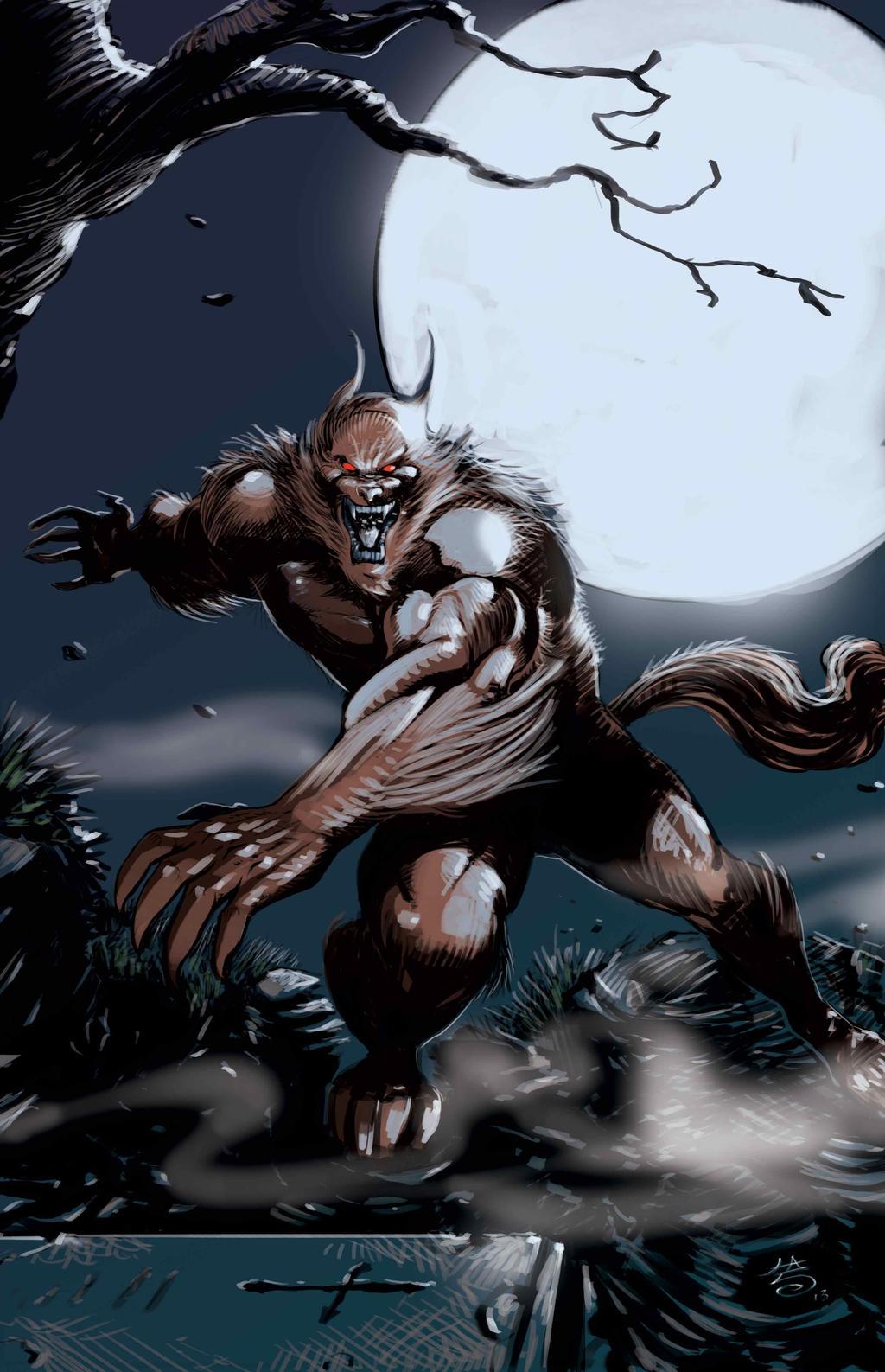 Werewolf vs Zombies colours version by FrancescoIaquinta ...