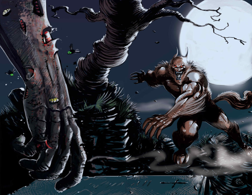 werewolf vs zombies the cursed and the damned by
