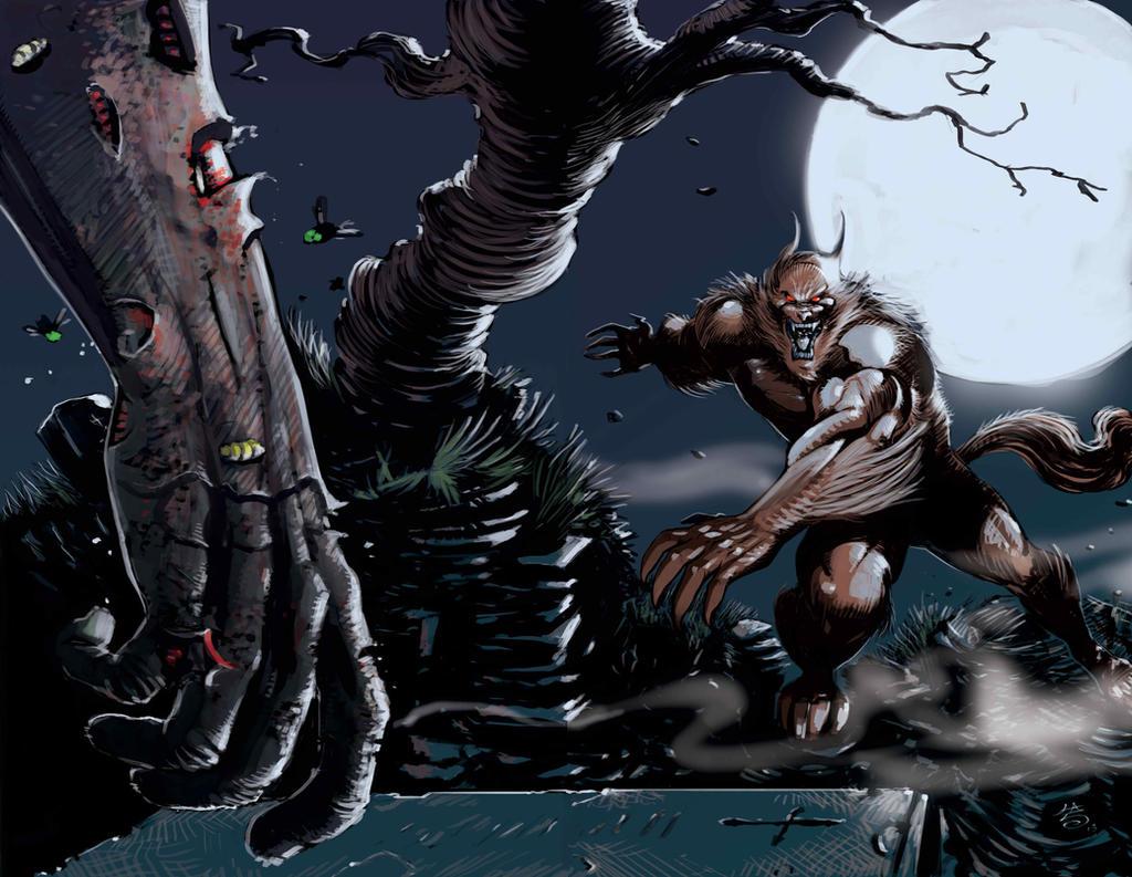 Pin Werewolf Vs Vampir... Zombie Vs Vampire Vs Werewolf