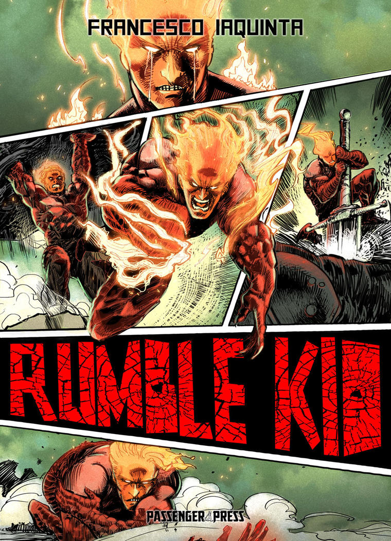 Rumble kid_passenger press by FrancescoIaquinta