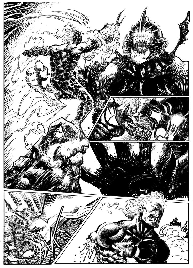 Rumble kid_internal page by FrancescoIaquinta