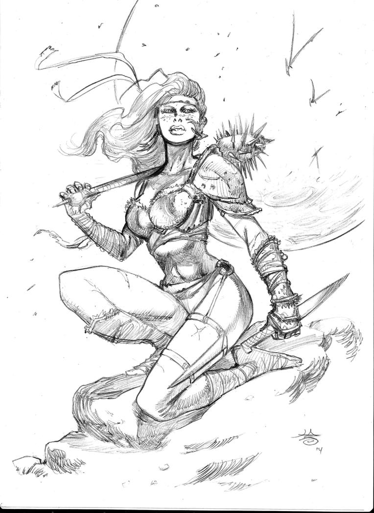 She Warrior by FrancescoIaquinta