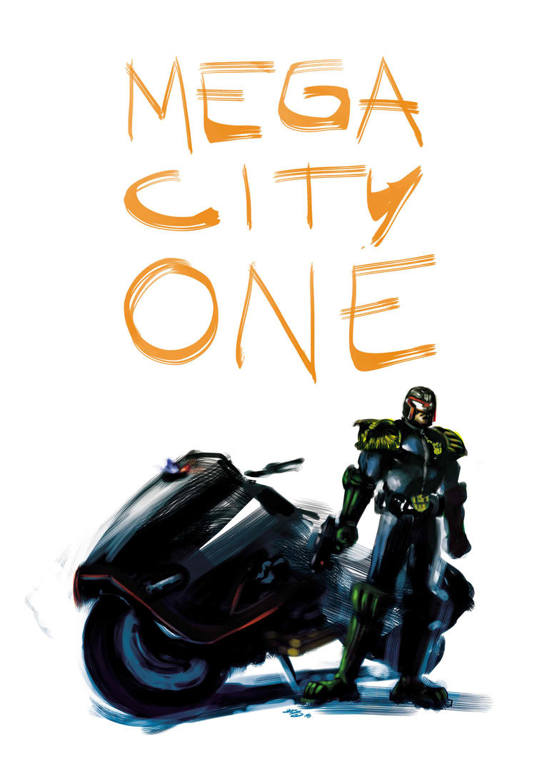 Welcome to Megacity One by FrancescoIaquinta