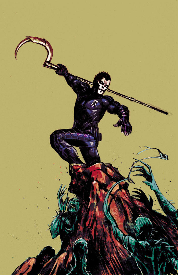 Shadowman_cover sample by FrancescoIaquinta