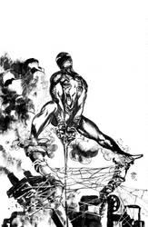 Spiderman_new suit by FrancescoIaquinta