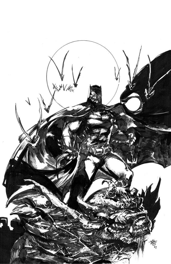 Batman_commission by FrancescoIaquinta
