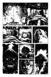 Death Of The Horror _internal page by FrancescoIaquinta