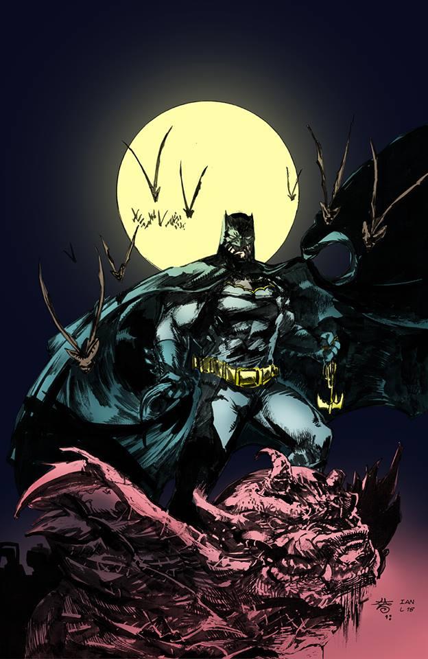 Dark Knight_commission by FrancescoIaquinta