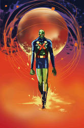 Martian Manhunter by FrancescoIaquinta